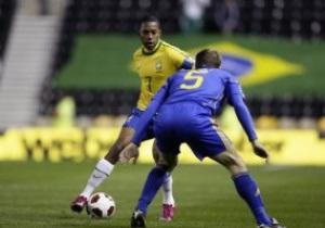 Украина уверенно проигрывает Бразилии