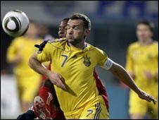 Шевченко не гратиме проти Бразилії в Дербі