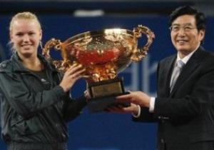 Пекин WTA: Возняцки берет титул