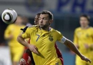 Шевченко не зіграє з Бразилією