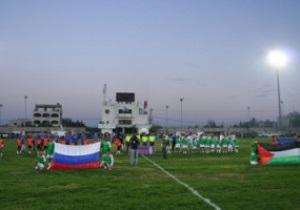 Московське Динамо зіграє зі збірною Палестини