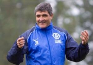 Хуанде Рамос провів перше тренування у Дніпрі