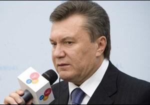 Янукович звинувачує ЄС у байдужості до України