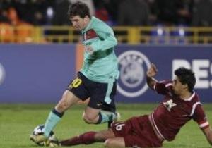 ЛЧ: Барселона третий раз подрял не смогла обыграть Рубин, МЮ дожал Валенсию