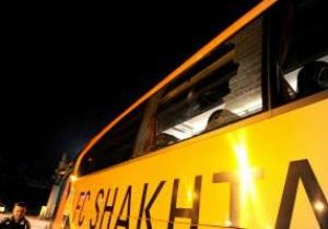Инцидент с разбитыми автобусами Шахтера. В Харьков едет группа МВД для расследования