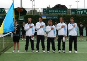 Кубок Дэвиса: Украинцы начнут следующий сезон матчем с голландцами