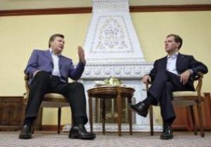 Янукович предложил Медведеву вместе готовиться к Евро-2012