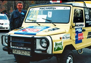 Українська служба Бі-бі-сі: Президентський автопробіг Янукович-Медвєдєв
