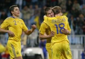 Сборная Украины опускается в рейтинге FIFA