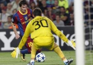 Барселона не забила первый пенальти в Лиге Чемпионов за четыре года