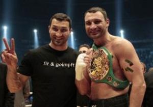 Братья Кличко станут Друзьями Евро-2012