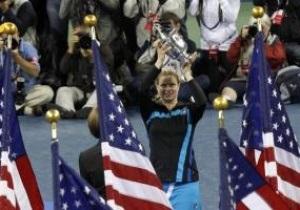 Клийстерс стала трехкратной победительницей US Open