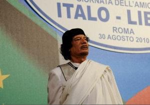Каддафі хоче від ЄС грошей на нелегалів