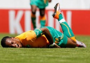 Дрогба відмовився виступати за збірну Кот д Івуару