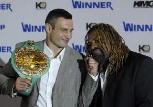 Віталій Кличко і Шеннон Бріггс провели прес-конференцію в Києві
