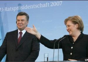 Перший візит Віктора Януковича до Берліна