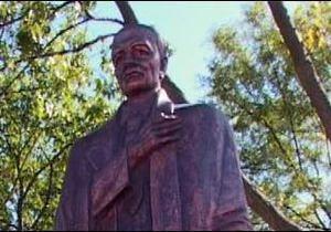 На Франківщині - пам ятник другу Бандери