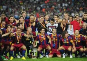 Фотогалерея: Реабилитация Месси. Барселона завоевывает Суперкубок Испании