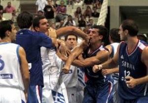 FIBA: Учасники бійки в Афінах будуть суворо покарані