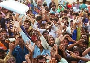 П ята частина земель Пакистану - під водою