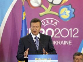 Янукович пригласил Платини в Украину