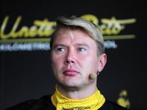 Хаккинен может выступить за рулем Мерседеса SLS