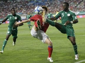 Южная Корея побеждает Нигерию