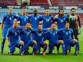Сборная Италии не одержала ни одной победы в 2010 году