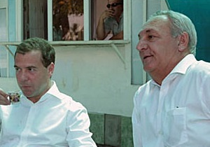 Медведєв несподівано відвідав Абхазію