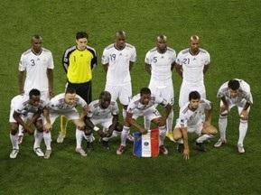 Пять игроков сборной Франции накажут за забастовку на ЧМ-2010