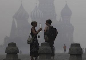 У Москві через дим перенесли рейси