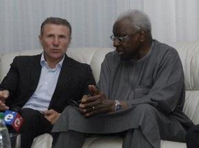 В Киев прилетел президент IAAF