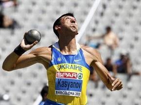 ЧЄ з легкої атлетики: Касьянов вибув з боротьби за медалі