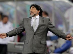 Офіційно: Марадона залишив посаду головного тренера збірної Аргентини