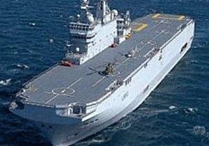 Франція продасть Росії військові кораблі