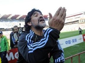 Марадона заявив про бажання продовжити роботу зі збірною Аргентини