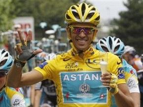 Контадор стал трехкратным победителем Тур де Франс