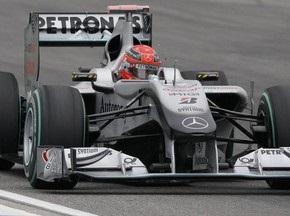 Гран-прі Німеччини: Шумахера оштрафували за перевищення швидкості