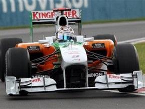 Гран-прі Німеччини: Сутіл виграв першу практику