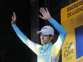 Тур де Франс: Контадор попросив вибачення за порушення правил чесної гри