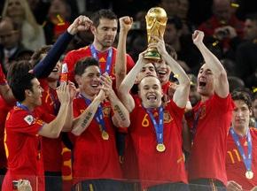 В Испании победу на ЧМ-2010 увековечат на монете