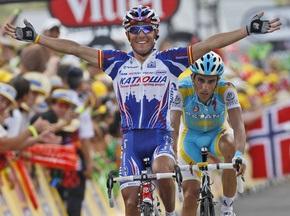 Тур де Франс: Родригес выиграл 12-й этап