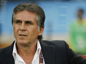 Карлош Кейруш не уйдет с поста тренера сборной Португалии