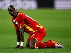 Капітан збірної Гани: Пограй до п ятдесяти