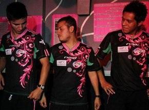 Мексиканська гей-збірна з футболу представила свою форму