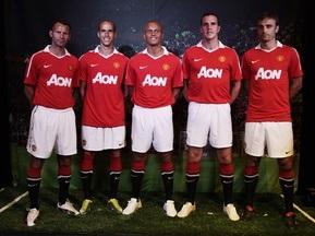 Фотогалерея: Нічого зайвого. Манчестер Юнайтед представив нову форму з пляшок