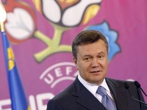 Янукович привітав короля Іспанії з перемогою його збірної на Чемпіонаті світу