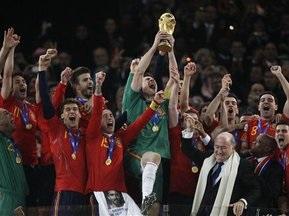 Іспанія очолила рейтинг FIFA