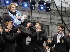 В Уругвае прошли торжества в честь национальной сборной