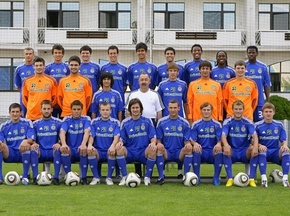 Динамо провело фотосессию перед началом сезона